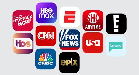 Frontier TV Channels