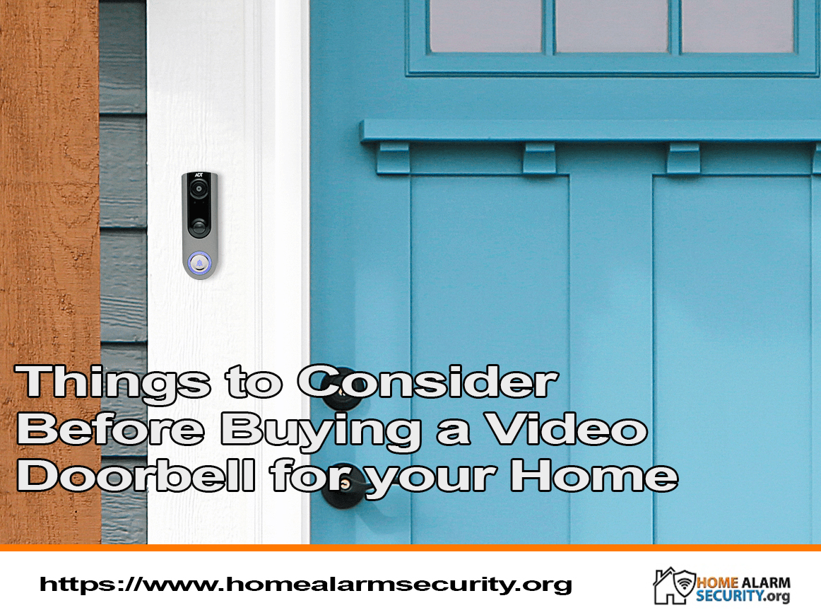 Things to Consider Before Buying a Video Doorbell for your Home