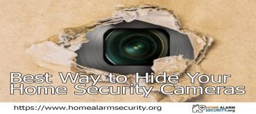 Best Way to Hide Your  Home Security Cameras