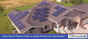 How Much Power Does a Solar Panel Can Generate?